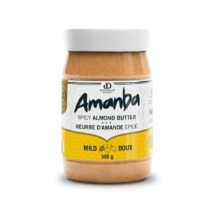 Amanba Creamy Spicy Almond Butter Mild