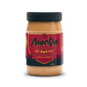 Manba Crunchy Spicy Peanut Butter Hot