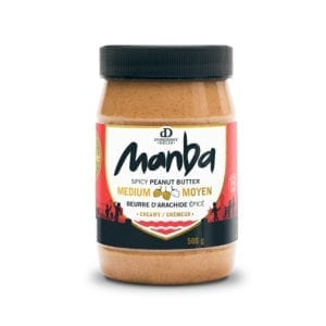 Manba Creamy Spicy Peanut Butter Medium