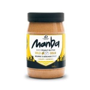Manba Creamy Spicy Peanut Butter Mild