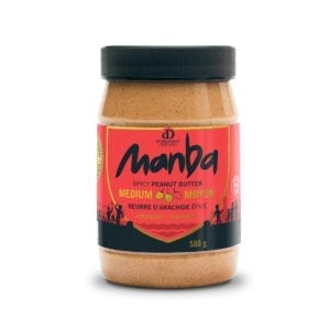 Manba Crunchy Spicy Peanut Butter Medium