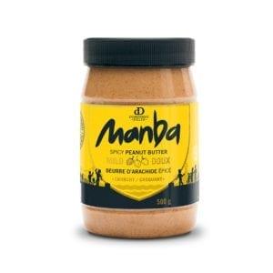 Manba Crunchy Spicy Peanut Butter Mild