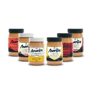 6 jars of Manba or Amanba - Spicy peanut butter