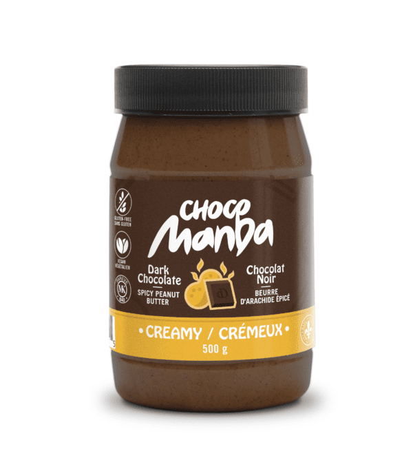 ChocoManba Dark Chocolate Spicy Peanut butter